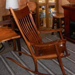 Rocking Chair Close-up